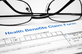 Health benefit claim form poster