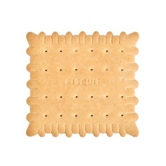 sugary biscuit