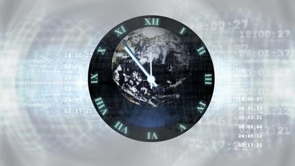 Uhr - 5 vor 12 - klimawandel