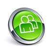 icône bouton internet contact