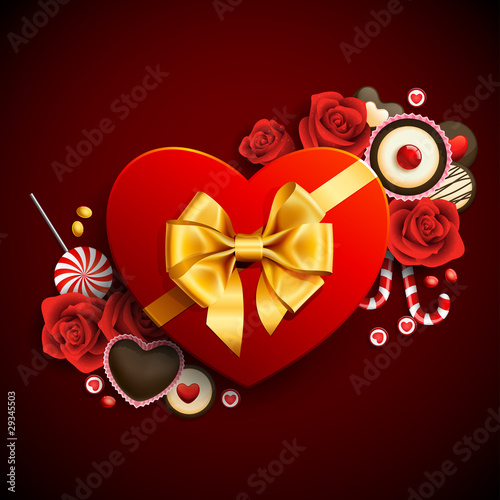 heart shape gift