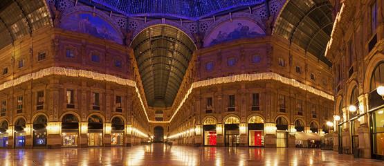 Panoramica Galleria Vittorio Emanuele