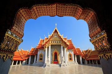 The Marble Temple(Wat Benchamabophit), Bangkok, Thailand