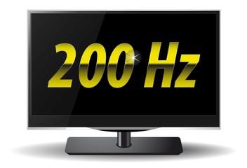 LCD TV 200Hz