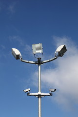 Security Lights With Surveillance Cameras