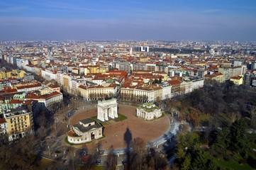 Milano dall'alto -1-