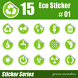 Eco Sticker #01