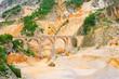 Carrara Marmor Steinbruch - Carrara  marble stone pit 16