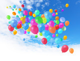 Fototapeta balon - Balony - Zabawka / Zabawa na Zewnątrz