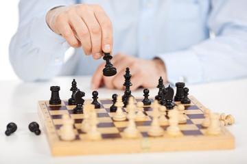 erfolgreicher schachspieler