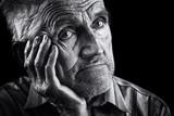 Fototapety Expressive senior portrait