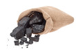 Coal in sack