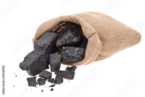 Coal in sack