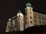 Wawel Hill by night - Krakow . poster