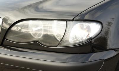 Car front close up