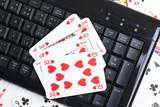 online poker gambling poster