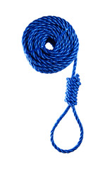 Rope with noose,gallows