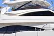 Leinwandbild Motiv yacht de luxe moderne, french riviera côte d'azur