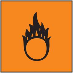 Brandfördernd