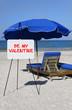 Be My Valentine Beach Sign