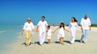Three Generations Walking on the Beach filmed 60FPS