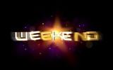 3d Schriftzug - Weekend poster