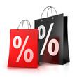 2 Einkaufstaschen %%