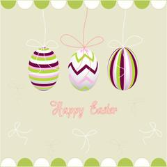 happy easter, eggs