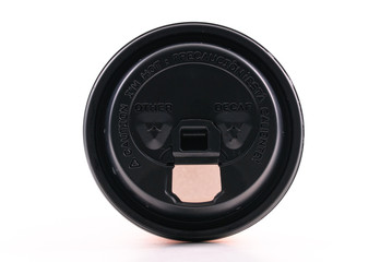 Caution Labels on a Hot Beverage Lid