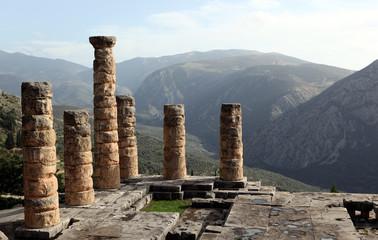 Delphi Columns Landscape