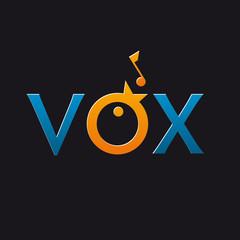 logo entreprise, voix, vox