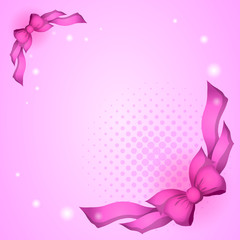 Background with bows