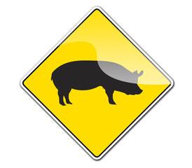 Pegatina Cerdo