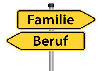Familie oder Beruf