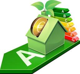 Investir dans l''éco-rénovation des logements (reflet)