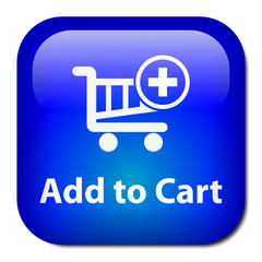 ADD TO CART Web Button (buy online e-shopping basket order now)