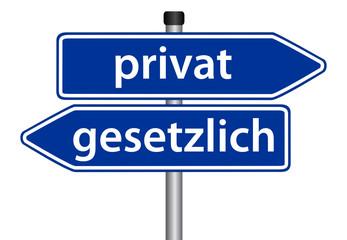 privat vs. gesetzlich