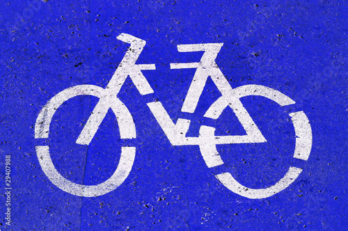 bicycle-only lane