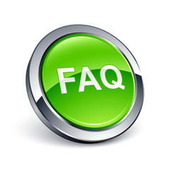 icône bouton internet question FAQ