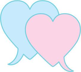Love chat box