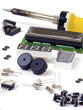 Electronic components and iron isolated