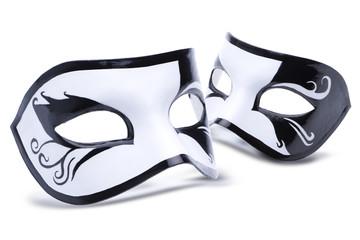 Schwarz Weisse Maske