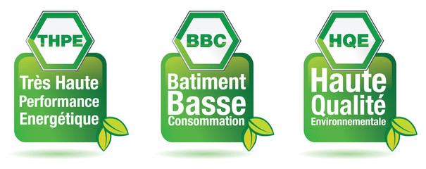 BATIMENT BASSE CONSOMMATION - THPE BBC HQE