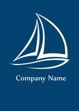 Fototapety Yacht logo