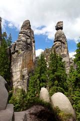 Mayor and His Wife, Adrspach-Teplice Rocks, Czech Republic