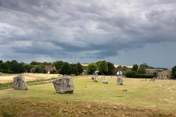 Avebury Steinkreis in Südengland