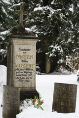 Grave of the family Mozart - Salzburg, Austria
