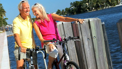Cycling Exercise for Contented Seniors filmed at 60FPS