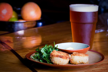 Crab Cakes and Beer