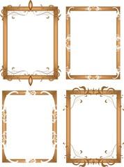 Rahmen in Braun
